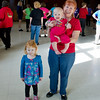 Carol and her granddaughters, Isabel and Fiona, at the Doug Chin Clogging Classic Benefit in Vallejo.