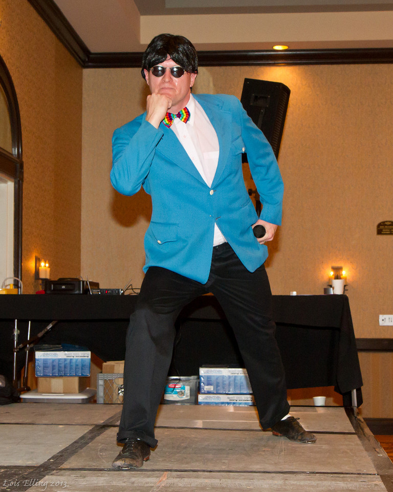 Morgan Gangnam Style