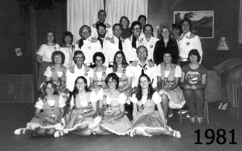 Blossom Hill Cloggers 1981