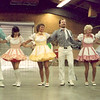 Blossom Hill Cloggers at NCCA Convention in Stockton, 1985.