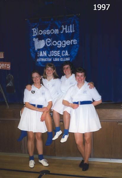 Lois, Jennifer, Deann and Peggy 1997