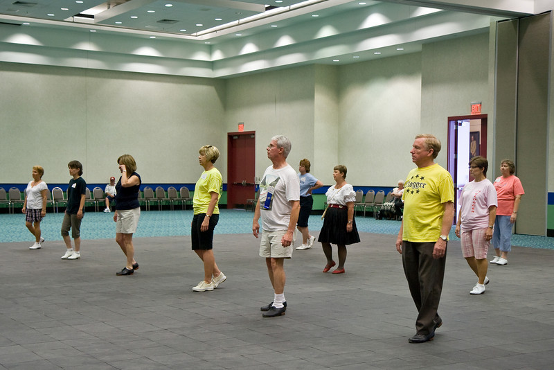Cloggers at the National Square Dance Convention, Louisville, KY