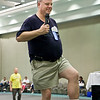 Brendan McCarthy teaching at the National Square Dance Convention in Louisville, Kentucky