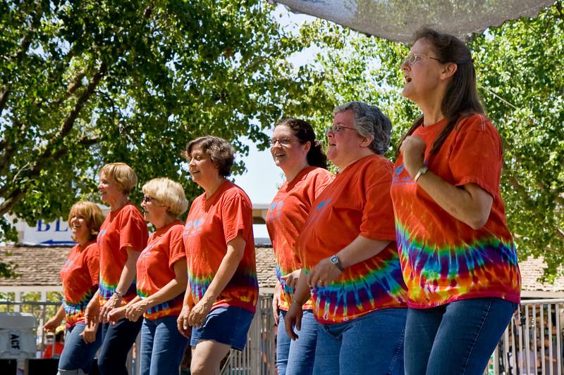 Clogging Express at Alameda County Fair