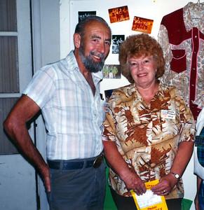 Dave and Wanda Pritchard at DMC's 20th anniversary party, 1994.
