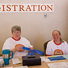Cindy and Donna at registration table