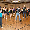 Late Saturday fun dancing at NCCA Convention