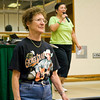 A George Strait fan at Janice Hanzel's workshop on Saturday at NCCA
