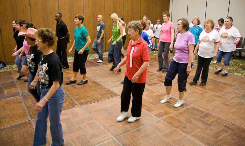 Dancers doing Kerri's workshop on Saturday at NCCA