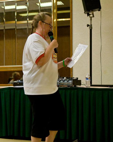 Susi Thomas teaching Saturday at NCCA Convention