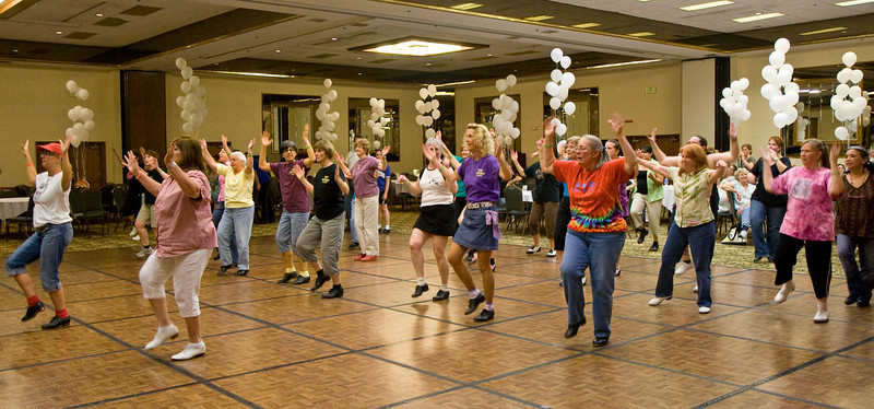 Dancers on Friday night at NCCA Convention