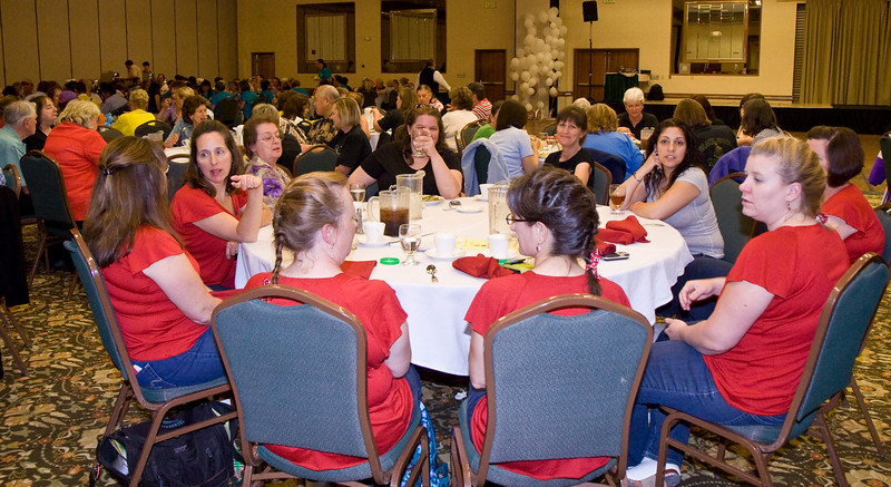 Saturday dinner banquet at NCCA Convention