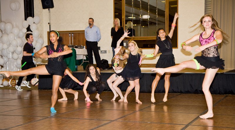 The senior elite dancers from the Dance Studio of Fresno performing at NCCA Convention