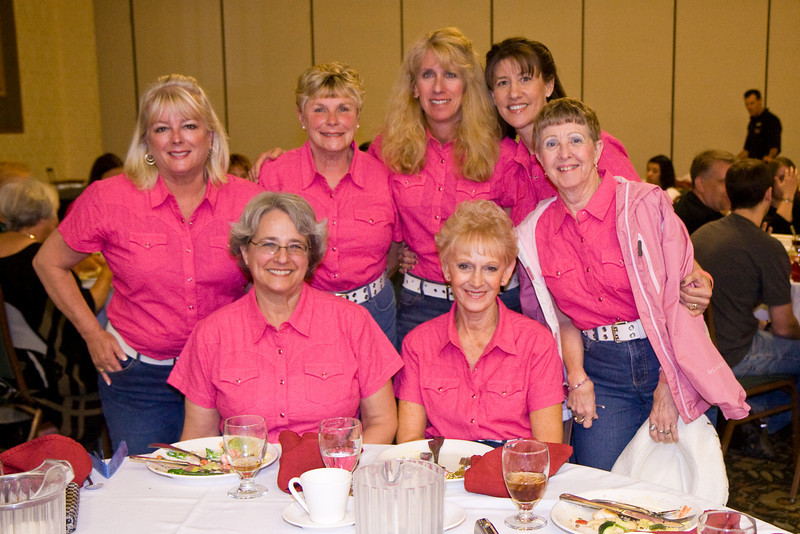 Feather River Cloggers at the Saturday banquet at NCCA