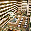 Hotel lobby and atrium