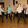 Barbary Coast Cloggers performing at NCCA Convention