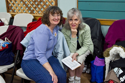 Carolyn Horvath and Sherri Titus at Late Harvest Stomp