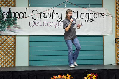 Michelle John-Smith teaching at Late Harvest Stomp