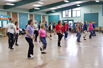 Dancers at Late Harvest Stomp