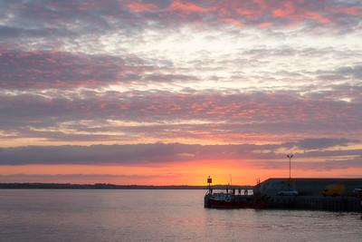 Sunset at Port Oriel-G_7421