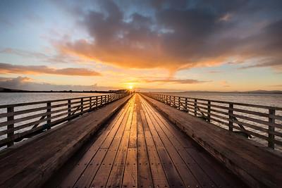 Sunrise at the Wooden Bridge-IMG_5636