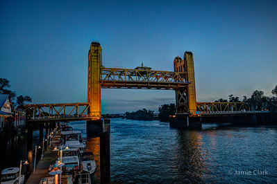 Tower Bridge. Sacramento, CA