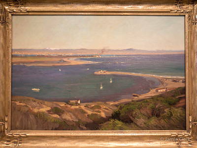 Old view of Coronado, from Point Loma. Crocker Art Museum. Sacramento, CA