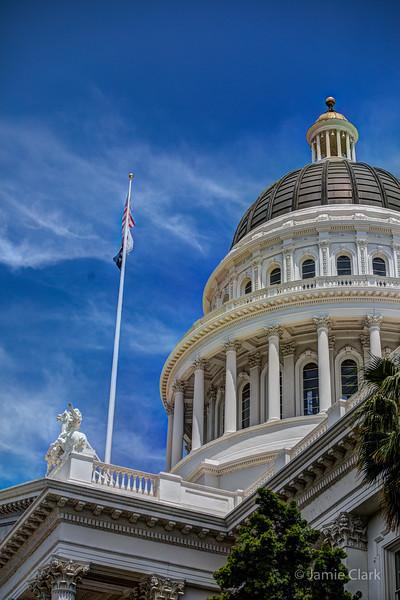 State Captiol Building. Sacramento, CA