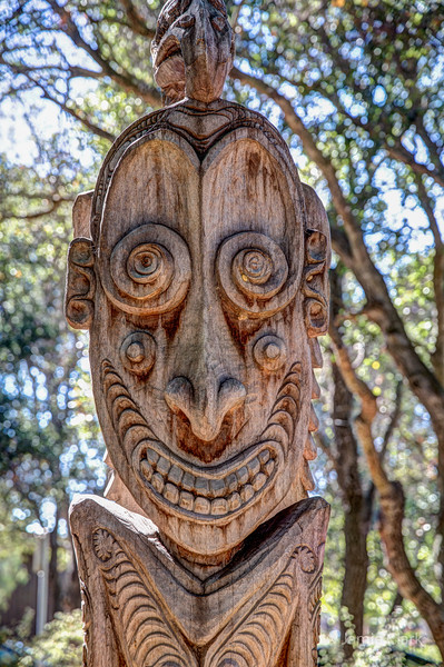 Papua New Guinea Sculpture Gardens @ Stanford Campus July 16, 2016