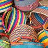 Brightly Colored Baskets