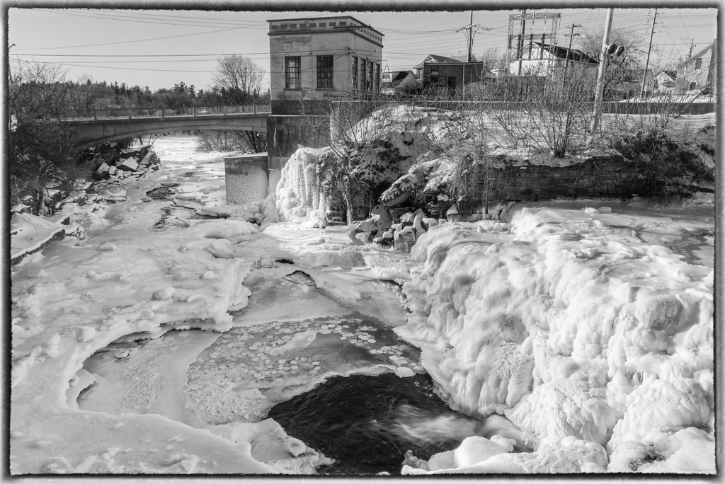Almonte Falls in January