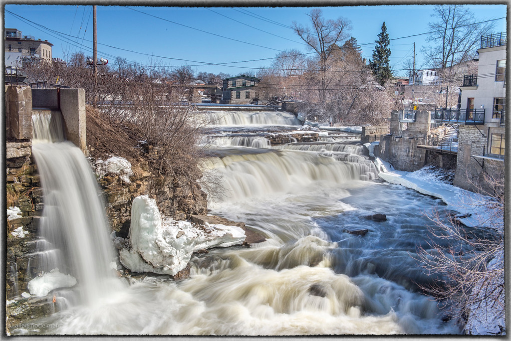 Mississippi River Almonte April 4, 2015
