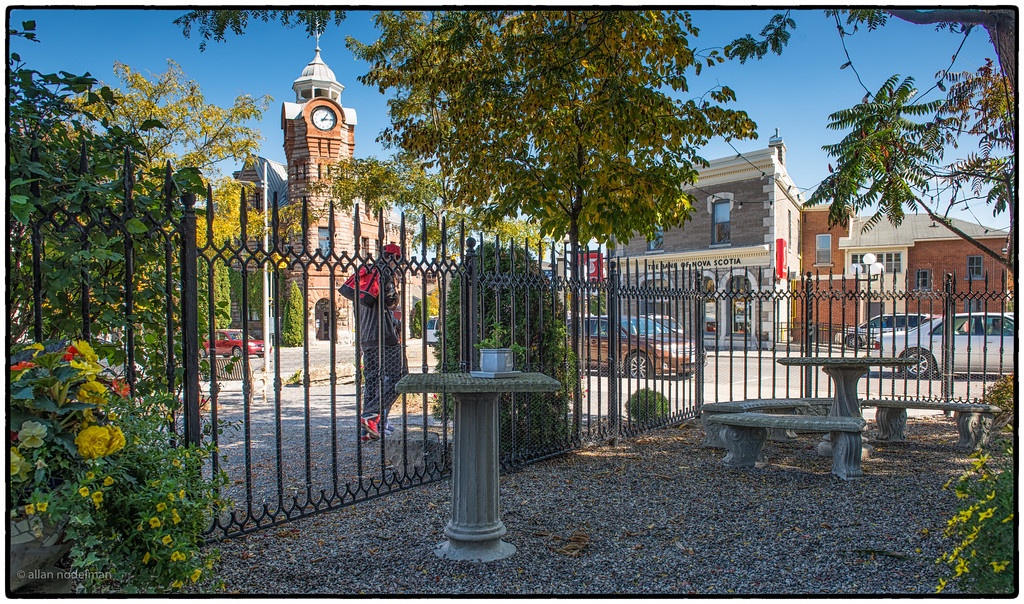 From a Courtyard in Downtown Arnprior