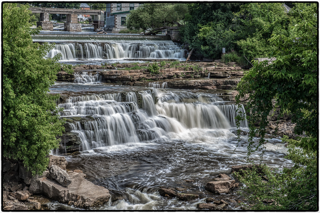 Almonte Falls in August