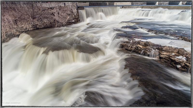 Mississippi River Almonte April 4, 2015