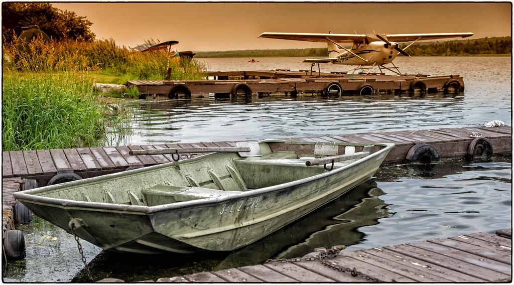 Constance Lake at the Fishing Lodge