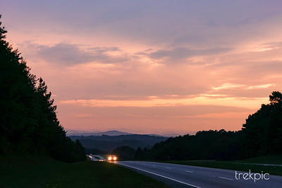 Blue Ridge Sundown