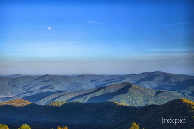 Smokey Mountain Moon
