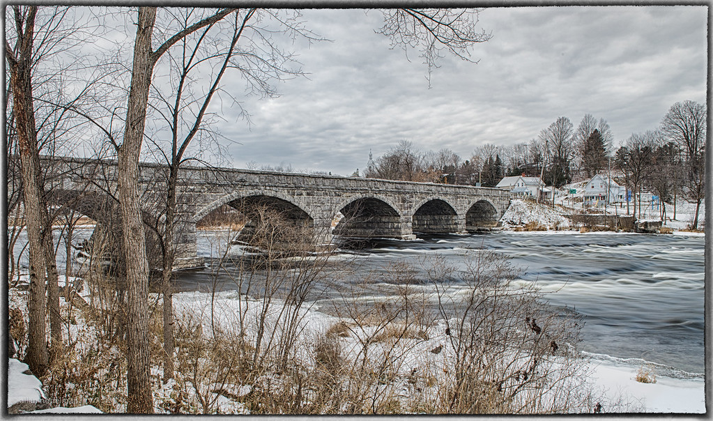 Five Arched Stone Bridge in Pakenham