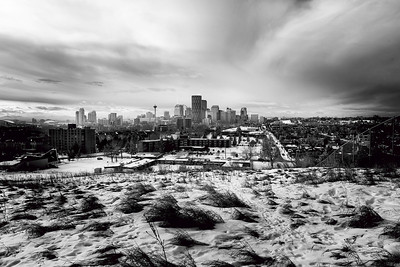 View from Tom Campbell's Hill, Calgary