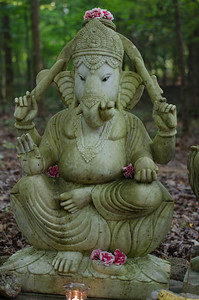 Ganesh In The Woods
