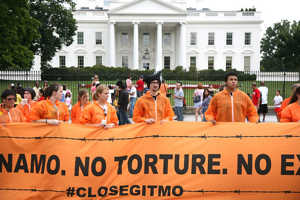 Protest March/Rally Against Torture, Guantanamo & NDAA June 24, 2012