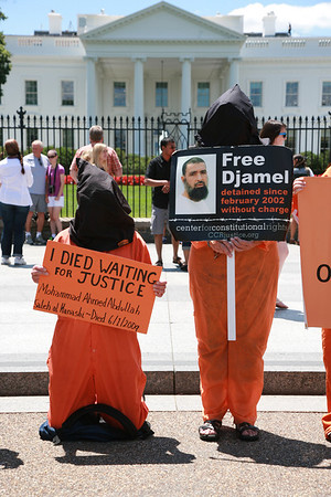 Vigil in Support of Hunger Strikers at Guantanamo