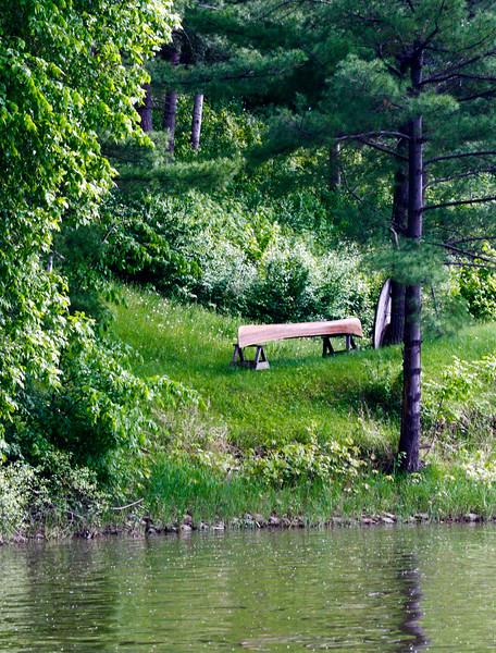 SW - 04821 Old Canoe by Fox River