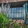 KM Fox River Enhanced-7 - Sculpture with Flowers