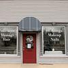 Hey Good Look'n Salon & Spa in Fitchburg was closed due to Coronavirus. SENTINEL & ENTERPRISE/JOHN LOVE