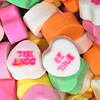 Candy Hearts closeup