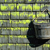 Bucket on Wall, Deer Isle, Maine