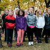 """The Fallbrook Songbirds perform a medley of patriotic songs at Carter Park during the final day of """"The Wall That Heals"""" in Leominster on Saturday afternoon. SENTINEL & ENTERPRISE / Ashley Green"""