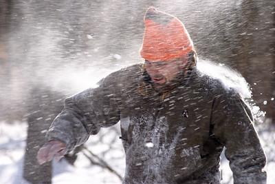 Snowball Fight, January 2005